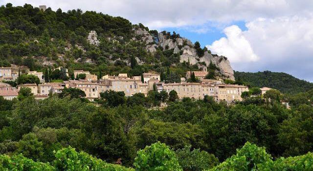 Séguret Village View Vaucluse