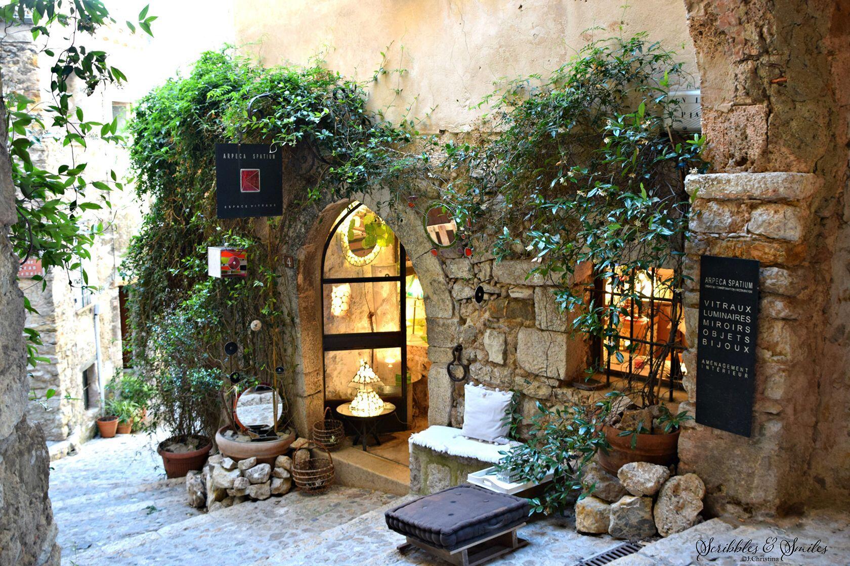 Atelier Luminary shop Sainte Agnes France Cot d'Azur JChristina