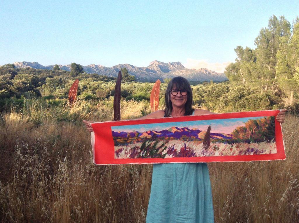 Ateliers Fourwinds Aureille Australian artist Turiya Bruce Aureille Opies