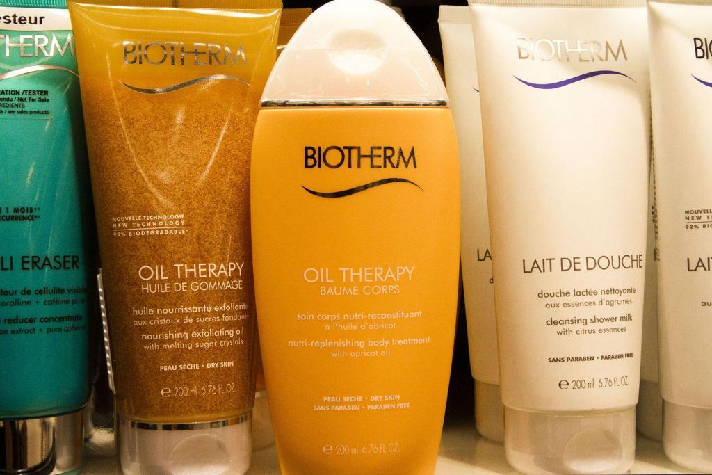 Cote d'Azur Shopping Biotherm Products Galleries Lafayette Nice