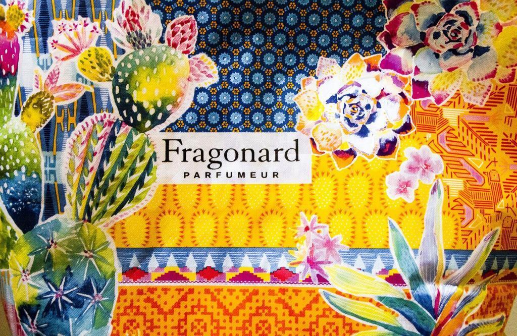 Cote d'Azur Shopping Fragonard Shopping Bag