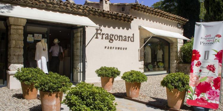 Côte d'Azur Shopping Fragonard Store Eze Village