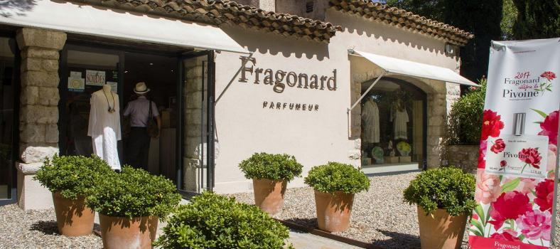 Côte d'Azur Shopping Fragonard Store Eze Village