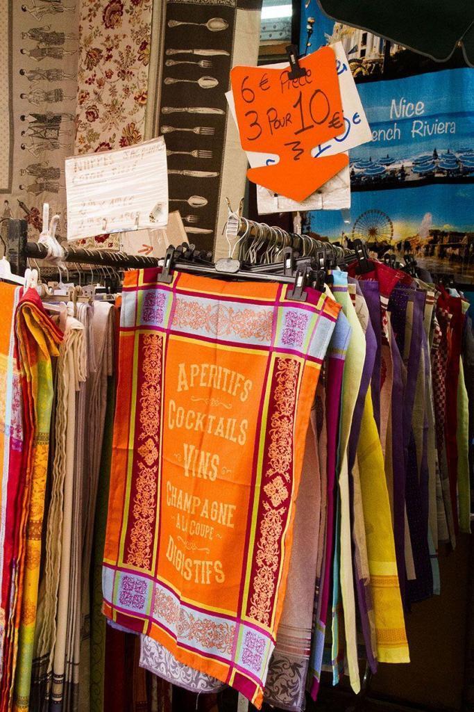 Cote d'Azur Shopping Kitchen Towels Souvenirs Gifts