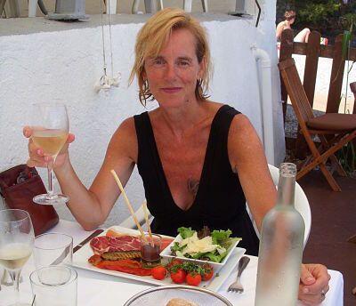 Mary Kay Seales on Saint-Jean-Cap-Ferrat