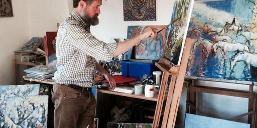 Provence Painting Sessions Duncan Barker Uzes