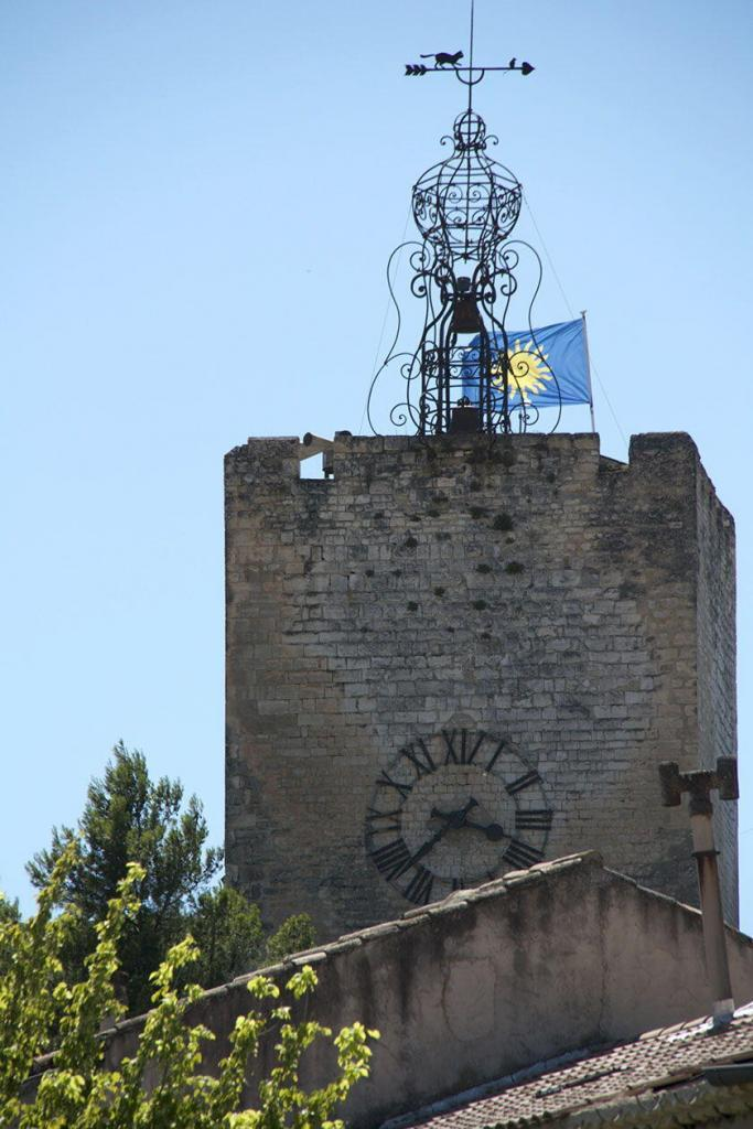 Pernes le Fontaines Clock Tower