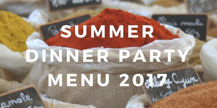 Provence Summer Dinner Party Menu