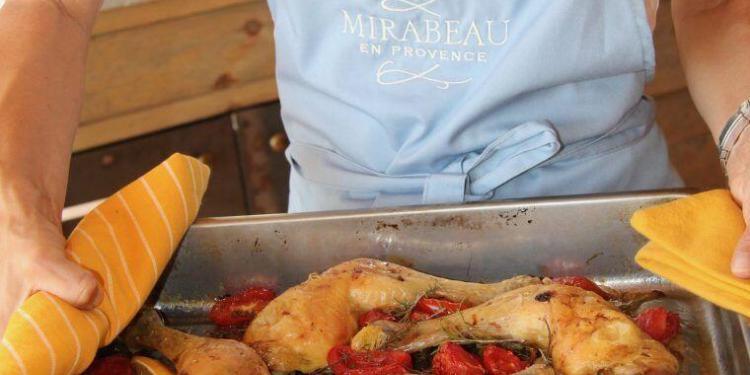 Recipe Mediterranean chicken tomatoes olives lemon