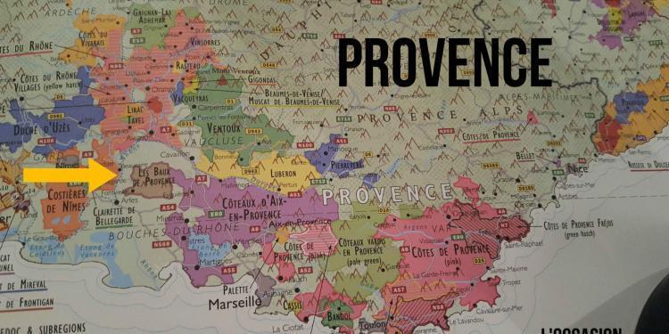 Affordable French Wines AOP Les Baux de Provence