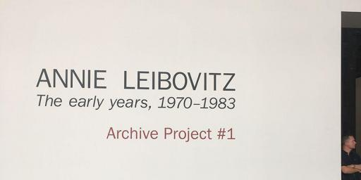 Annie Liebovitz Parc des Ateliers