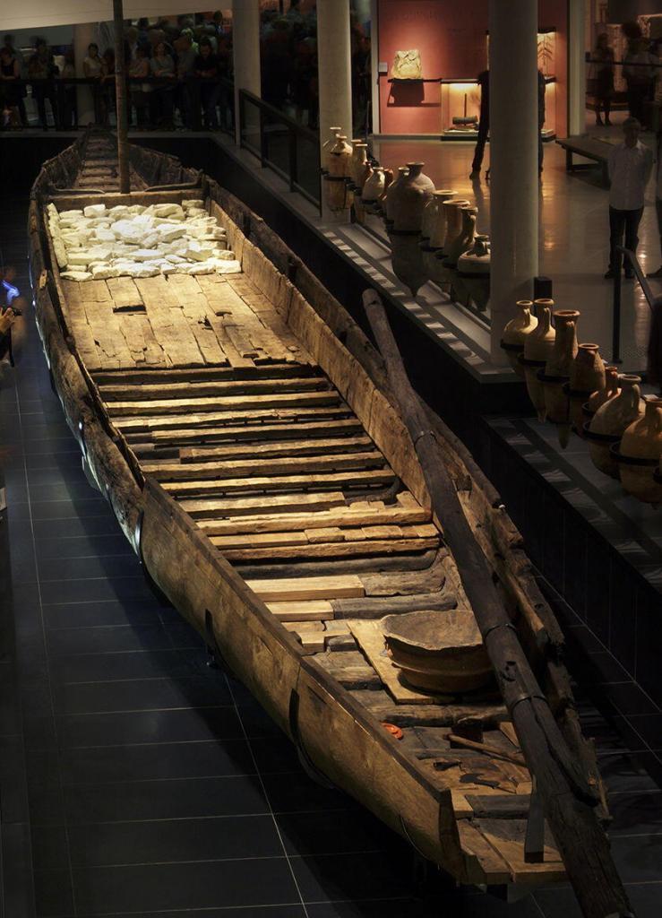 Roman Barge Arles Museum Antiquity