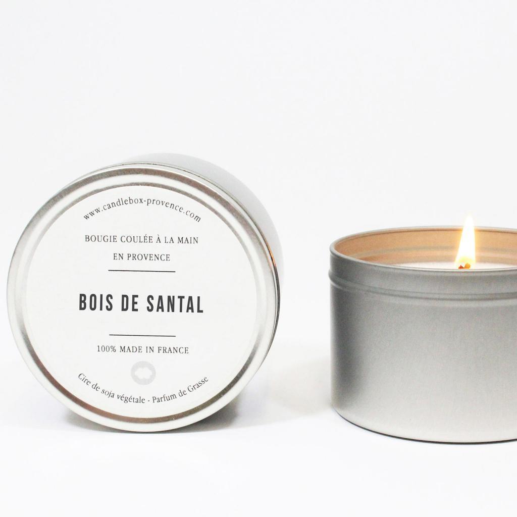 Candlebox Provence Orgon Bois de santal