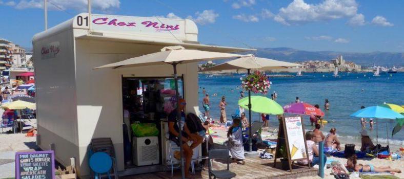 Coffee Kiosk Starbucks Cannes