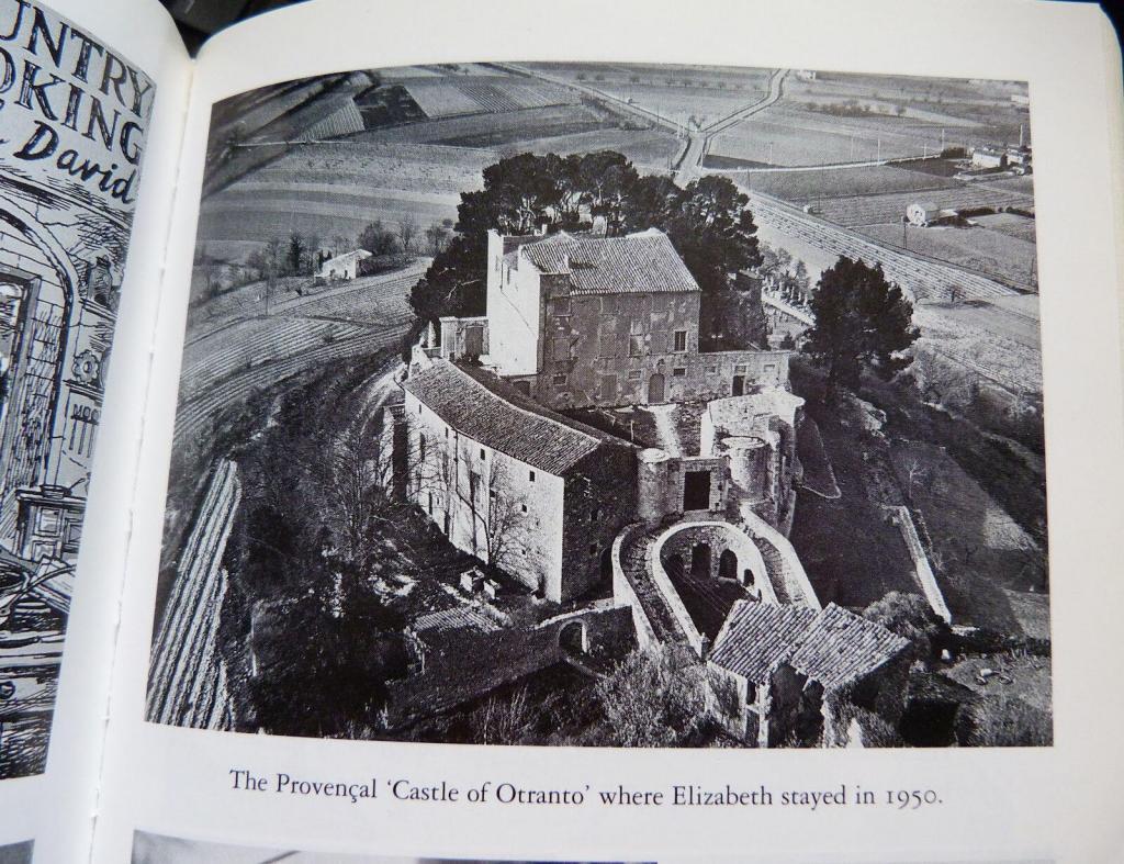Elizabeth David Author Le Castellet