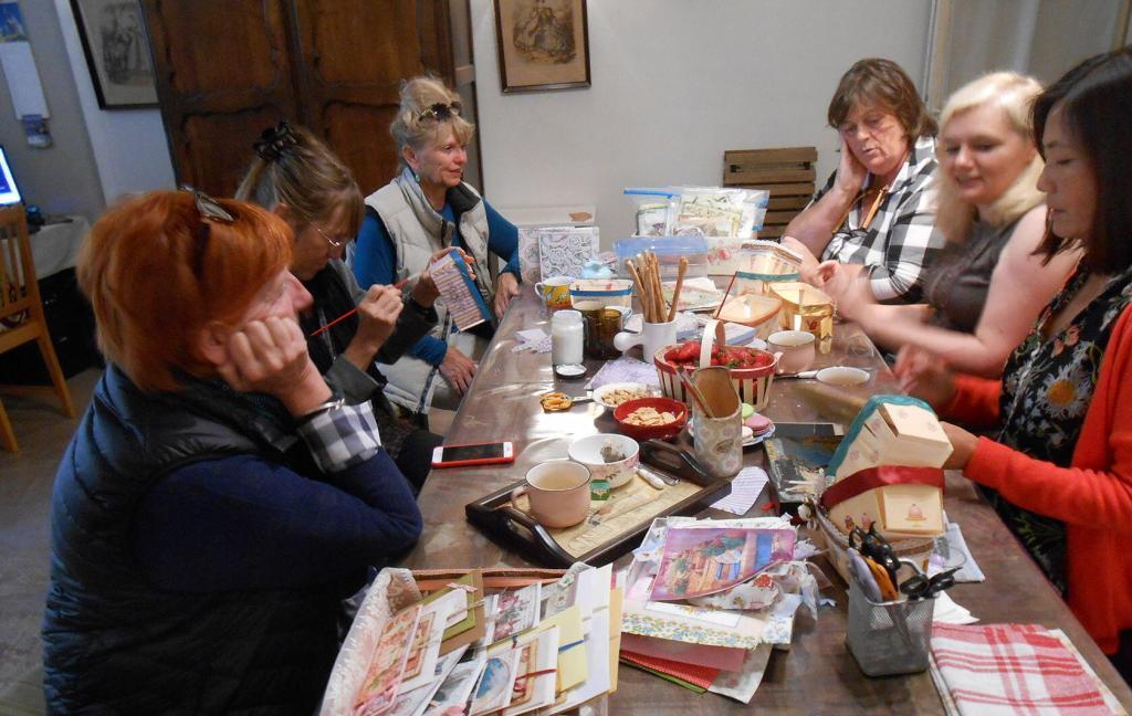 Jolie Vintage Atelier Crafting Workshops Goult