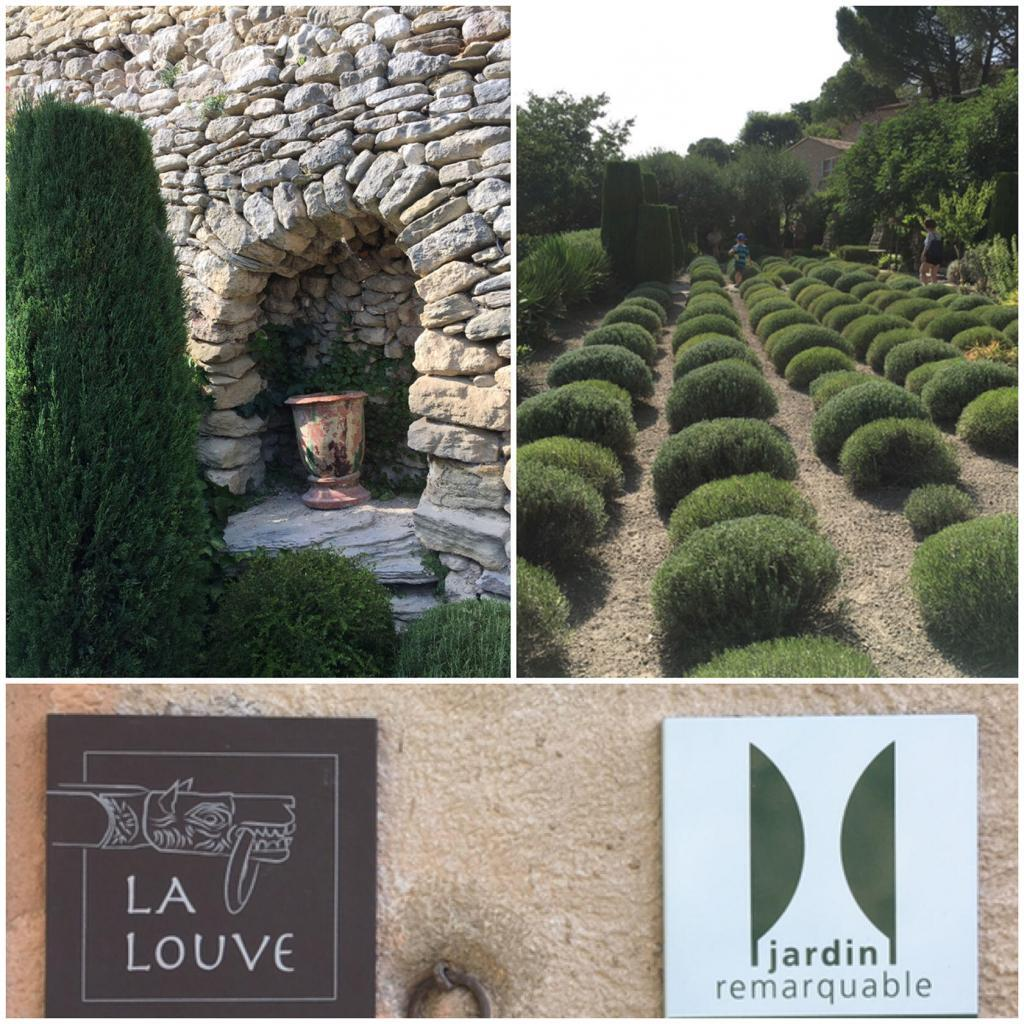 La Louve Garden Jardin Remarkable Bonnieux Photo Collage