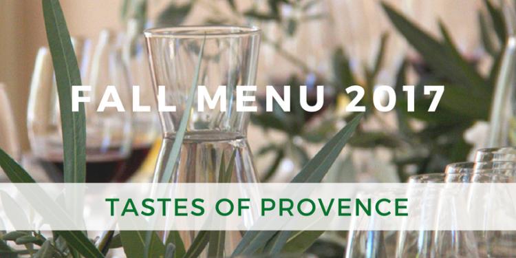 Fall Diner Party Menu Provence