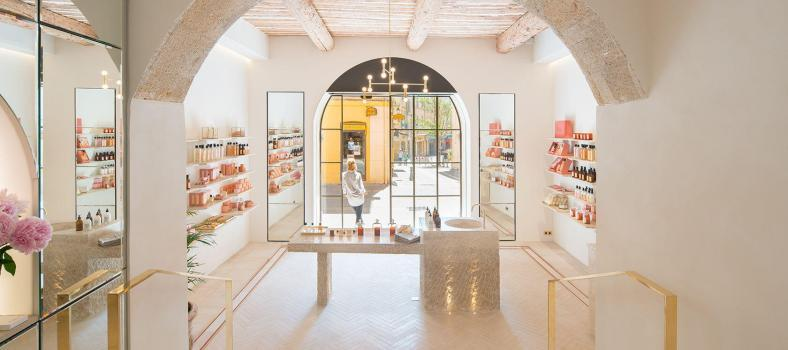 Provence Bastide Aix Flagship store Luxury Beauty Brand