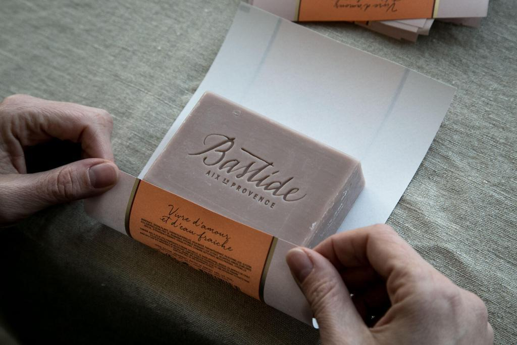Provence Bastide Luxury Beauty Brand Soap