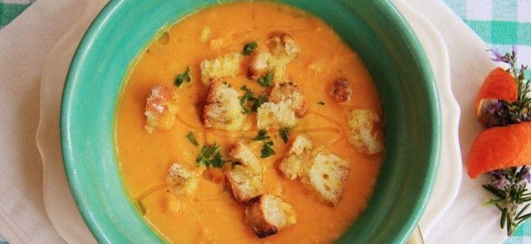 Pumpkin Jerusalem Artichoke Soup