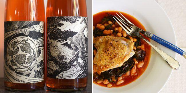 Rune Rosé Wine Provencal Braised Chicken Recipe