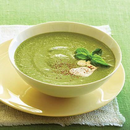 Zucchini Basil Veloute Soup Recipe