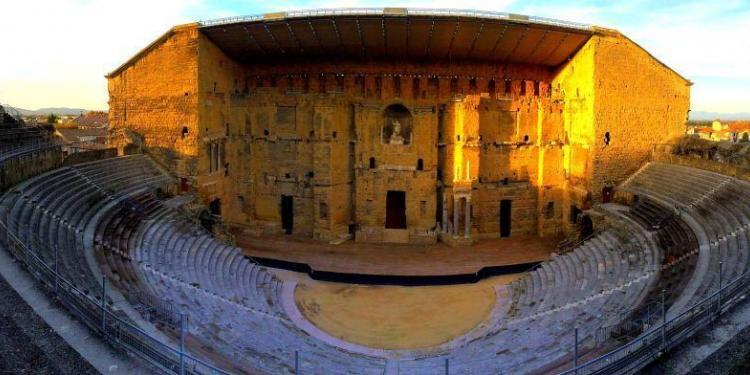 Roman Antique Theatre Orange France