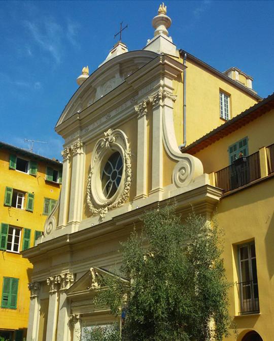 Penitents Chapels Nice Sainte Croix