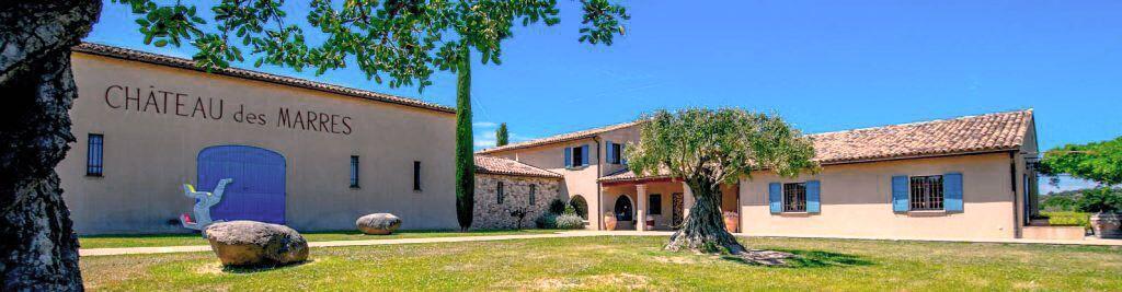 Chateau des Marres Vineyard Vignobles St Tropez Helicopter Visit