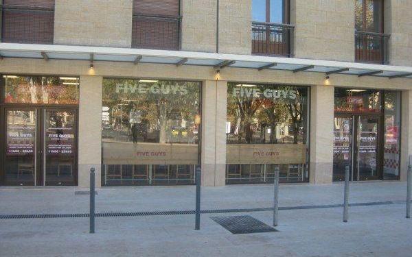 Aix-en-Provence Burger Bars Five Guys