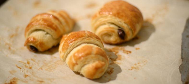 Croissants Pain aux Chocolate Recipe @ATableenProvence