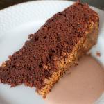 Decadent Chocolate Hazelnut Yogurt Cake