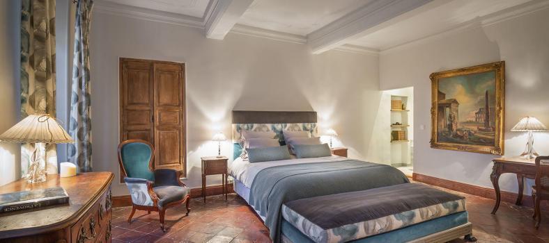 Christmas Le Domaine de Palerme Magnolias suite bedroom