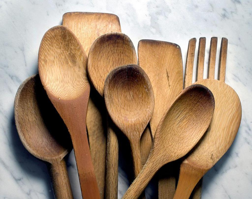 Francophile Holiday Gifts wooden spoons