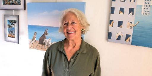 Jacqueline Bircard Artist Exhibition Lourmarin