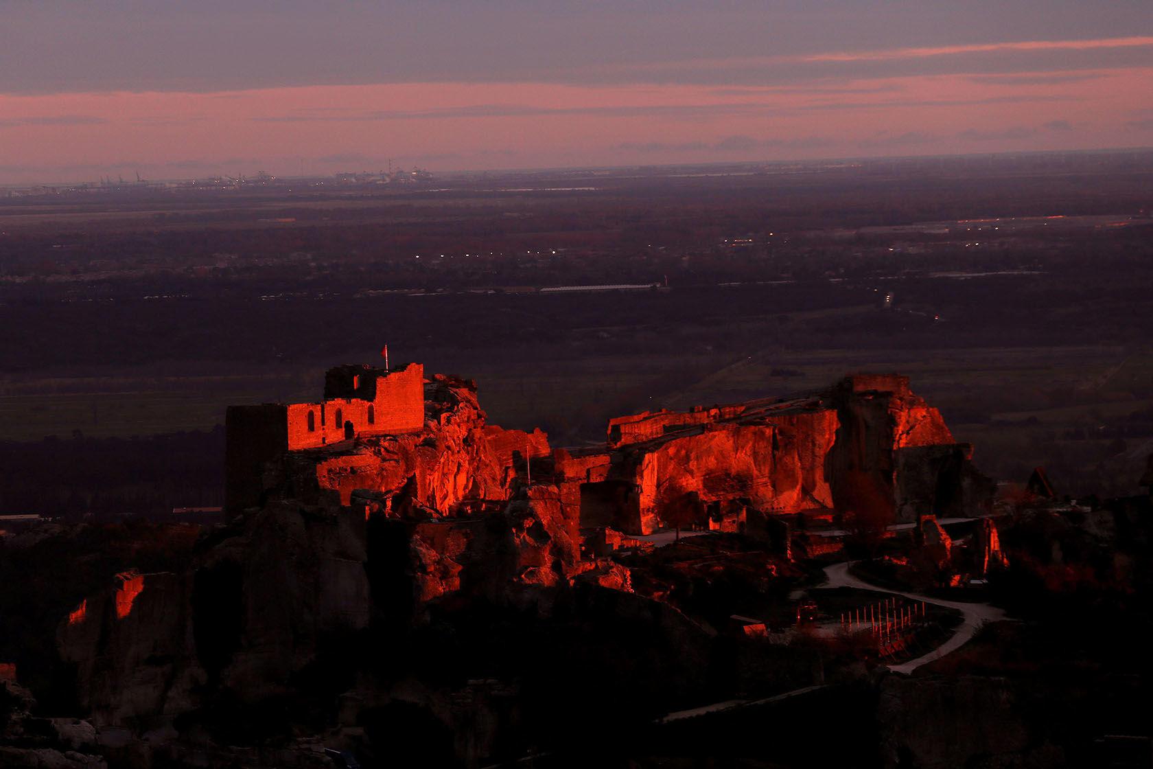 Lumières des Alpilles JF Galeron Les Baux de Provence