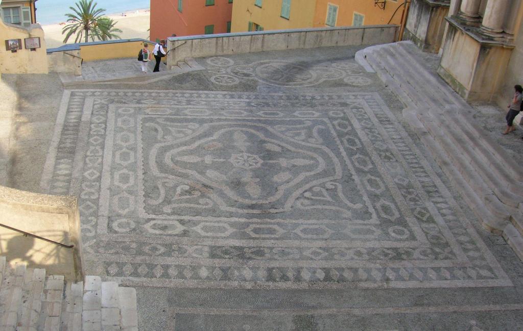 Visit Menton Treasures Grimaldi coat of arms