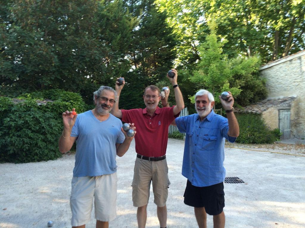 Provence Lifestyle Playing Boules Keith Van Sickle
