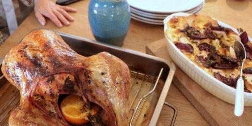 Roast Turkey Recipe Citrus Flavours Mirabeau Wine