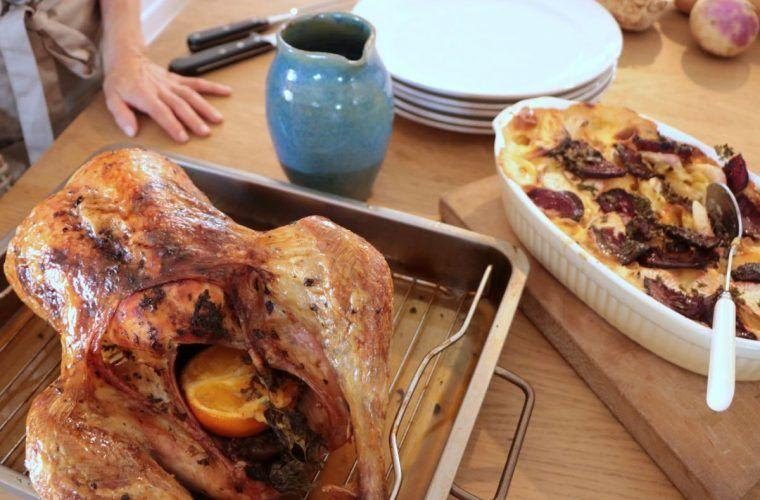 Roast Turkey Recipe Citrus Flavours Mirabeau Wine