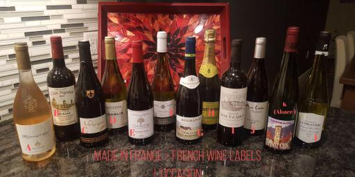 Wine France Labels Made in France