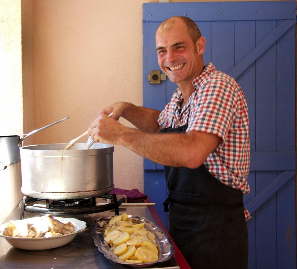 Gilles Conchy Provence Gourmet Cooking Classes