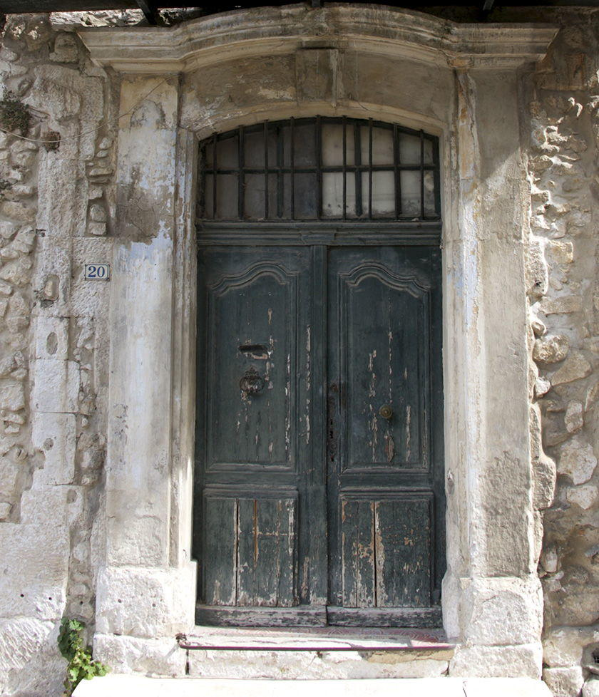 Discover Orgon Village Alpilles Old Doors