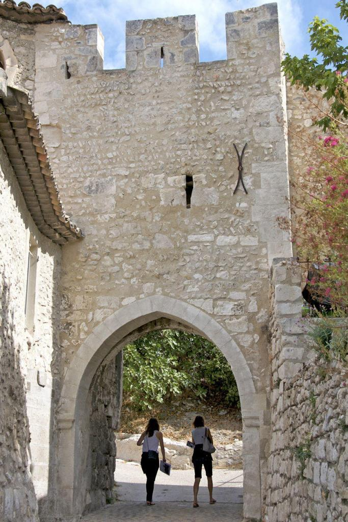 Discover Orgon Village Alpilles Old Ramparts