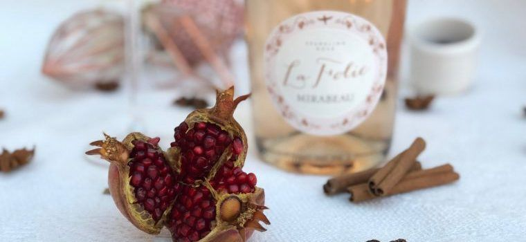 Rosé Cocktail Cinnamon Royale @MirabeauWine
