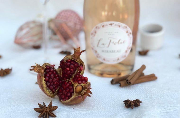 Rosé Cocktail Cinnamon Royale @MirabeauWine