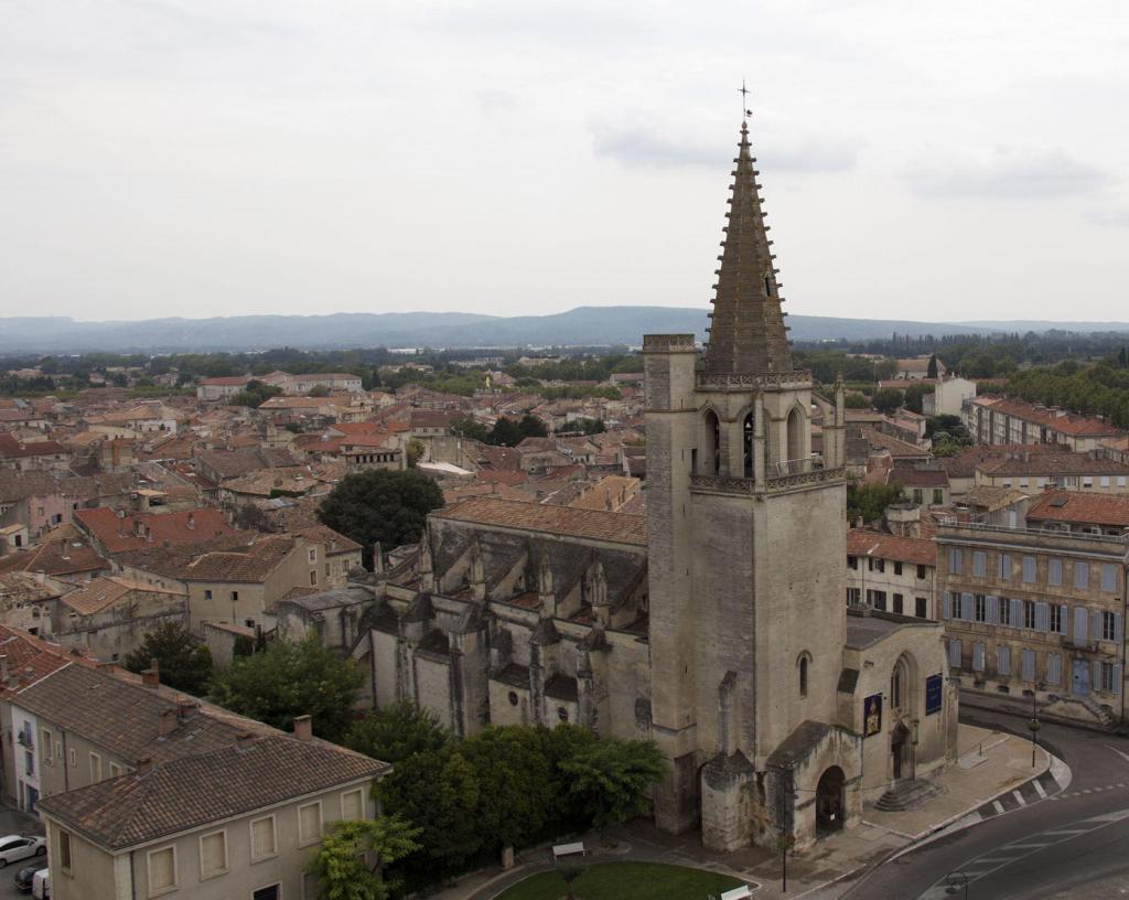 Tarascon Castle Provence Church View