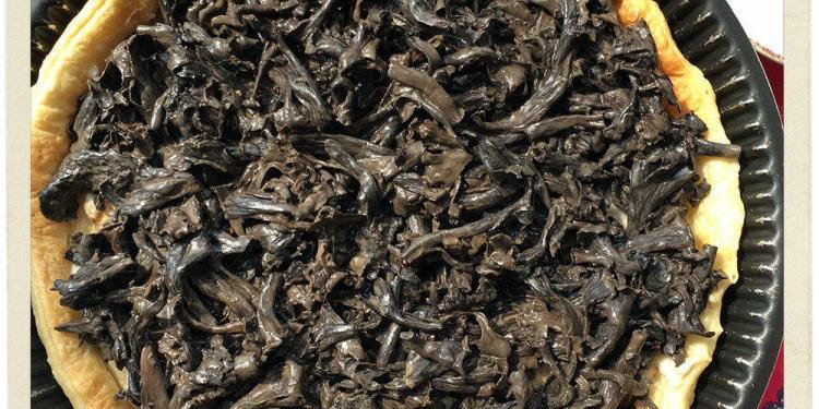 Trompette de la Mort Tarte Wild Mushroom Tart