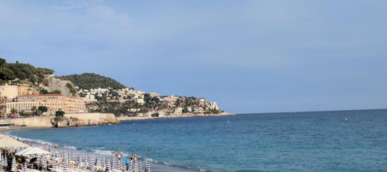 Visit Nice France Beach View